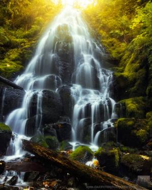 Elysian Cascades by davidrichterphoto