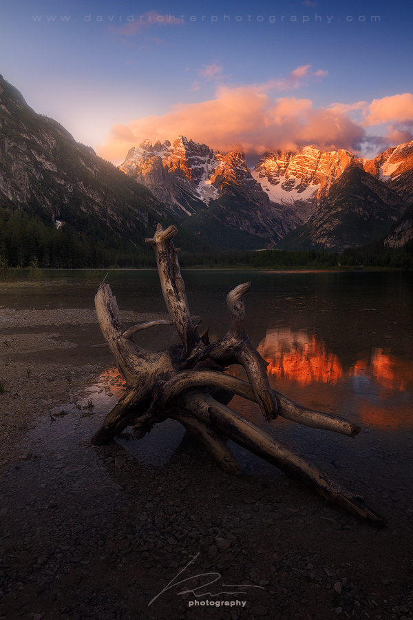 Here Today, Gone Tomorrow - Lago di Landro, Italy by davidrichterphoto