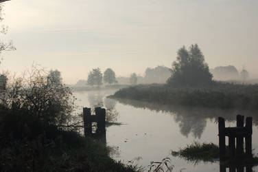 river trebel stock by lumpi691stock
