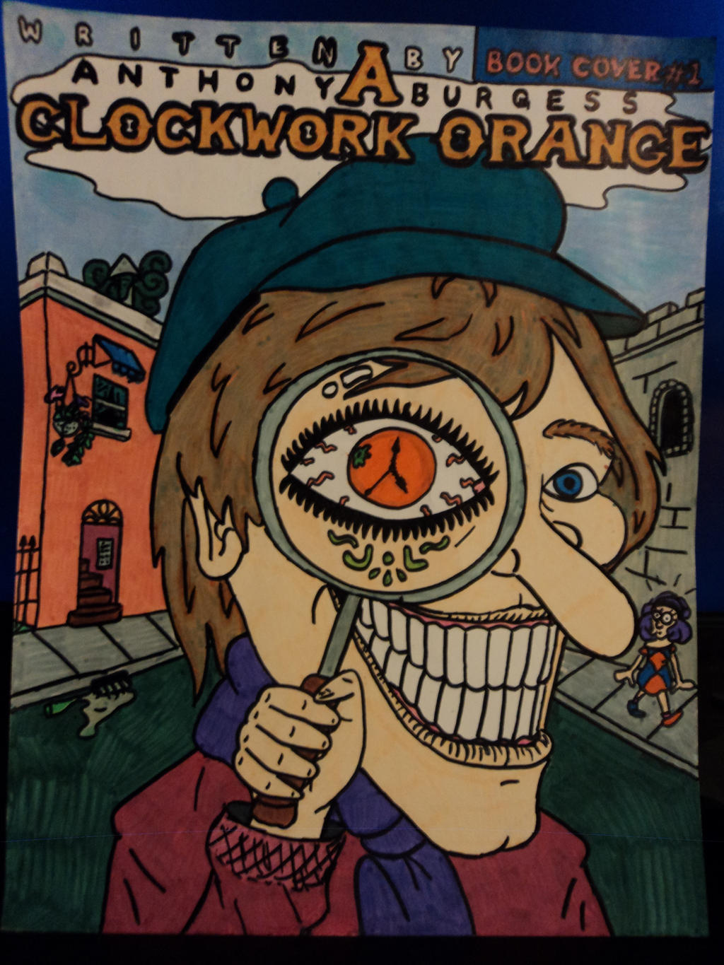 an analysis of the teenagers free will in the novel a clockwork orange View a clockwork orange research papers on academiaedu for free skip to main content log in  study guide for a clockwork orange as novel and film.