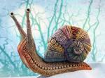 Ornamental Giant Snail