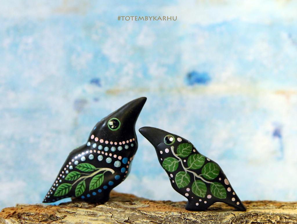 Two Ravens by nicsadika