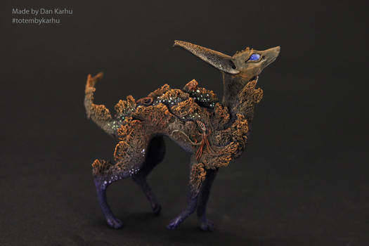 Anubis-dog of the sacred forest