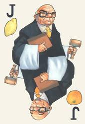 Orange Judge, Lemon Judge by MaxHierro