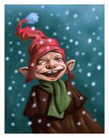 Christmas Goblin by MaxHierro
