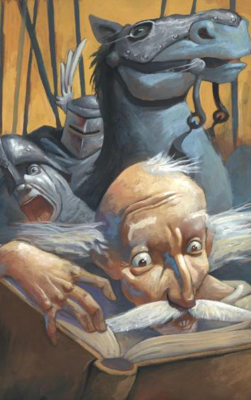 Quixote-Libros de Caballerias by MaxHierro