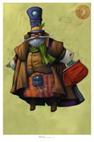 El Profesor Nicholas Claus by MaxHierro