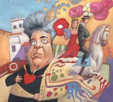 Seville Fair with Almodovar by MaxHierro