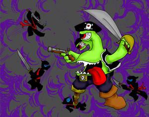 Pirate vs Ninjas