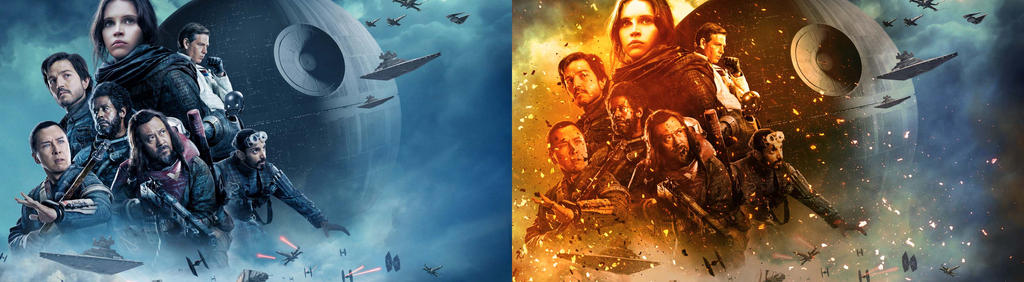 Rogue one comparison by Edgeley