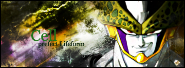Signature: Cell Perfect Lifeform by l3lackMonkey
