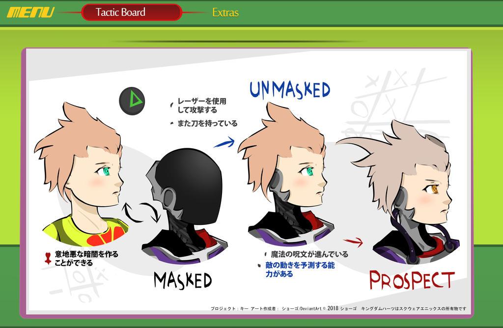Kingdom Hearts: Enemy Tactic Board by ShogoDrew
