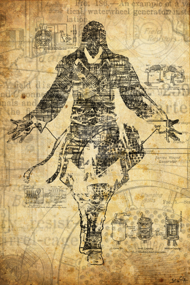 Assassins Creed Steampunk Poster by iceboxillustrations on DeviantArt