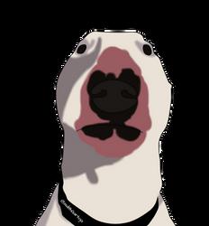 Walter The Dog by IsdithGartoja