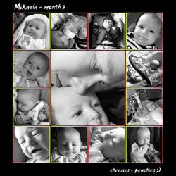 mikaela 3 month