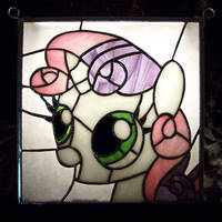Stained Glass Sweetie Belle by Fetchbeer
