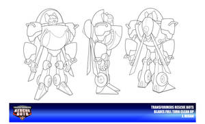 Rescue Bots Blades Clean Up