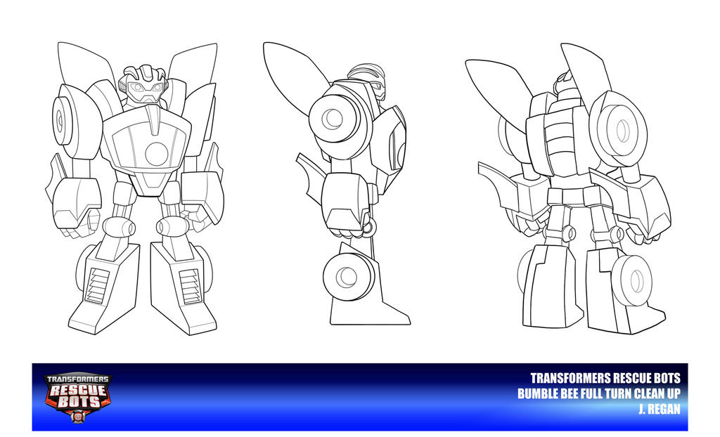 Rescue bots bumble bee clean up by thegreatjery on deviantart for Transformers rescue bots coloring pages
