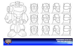 Rescue Bots Chase Head Turn Clean Up