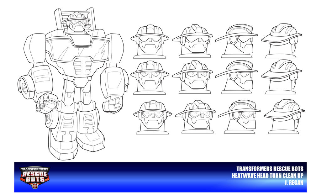Go Bots Free Coloring Pages