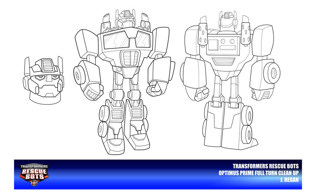 Rescue Bots Optimus Prime Clean Up By Thegreatjery On