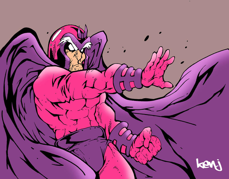 Magneto quickie. by Kenji-Seay