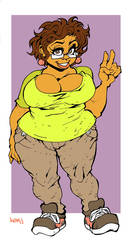 Norah Blaque is a real cutie. by Kenji-Seay