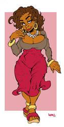 Eva Blaque Jones is gosh darned fine yo by Kenji-Seay