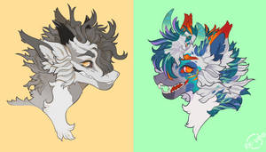 (Headshot Commissions) Nocturnal-visibility