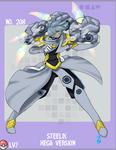 Human Mega Steelix