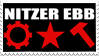 Nitzer Ebb stamp by Liliothe