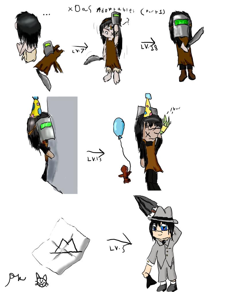 Yahtzee Character Design : Xdas adoptables part by pikachu kitty on deviantart