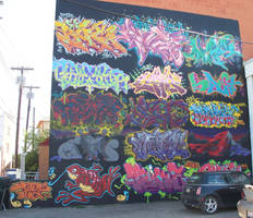 Graffiti Artists collaboration by 2cgreatart