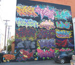 Graffiti Artists collaboration