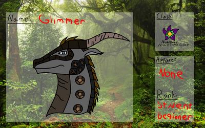animus academy Glimmer by ZiaWatcher