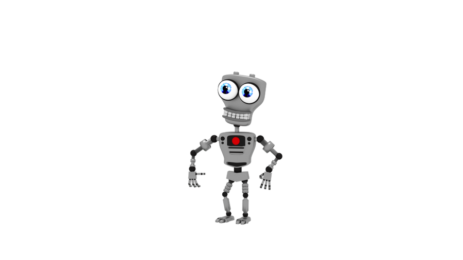 Endo 01 Standing Idle By Zylae On Deviantart