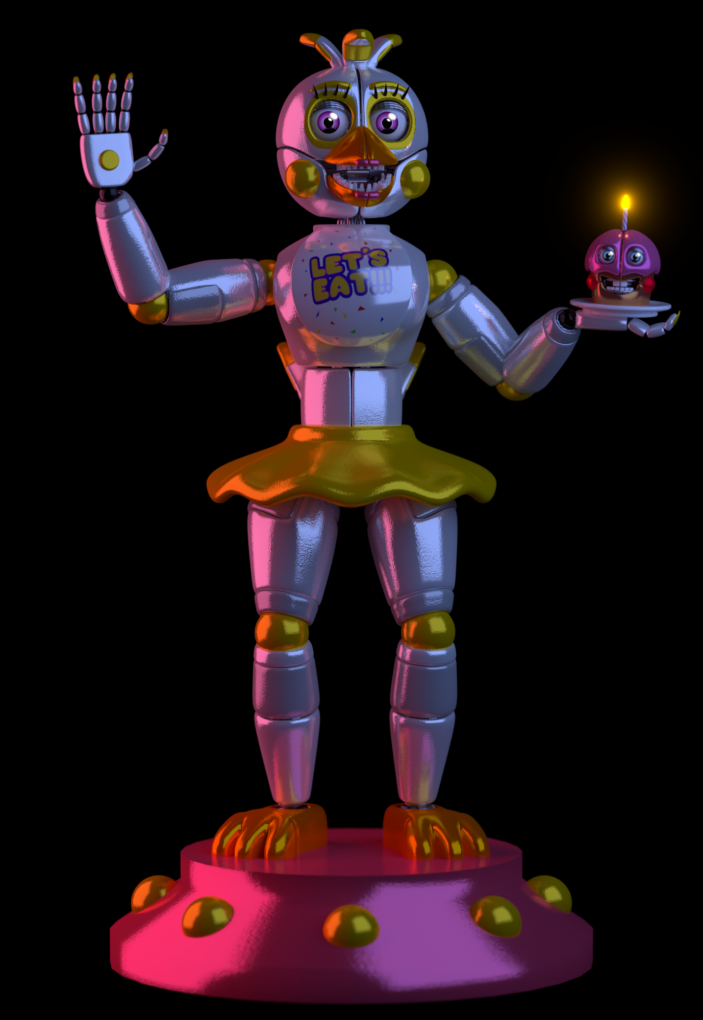 Funtime Chica By Zylae On Deviantart