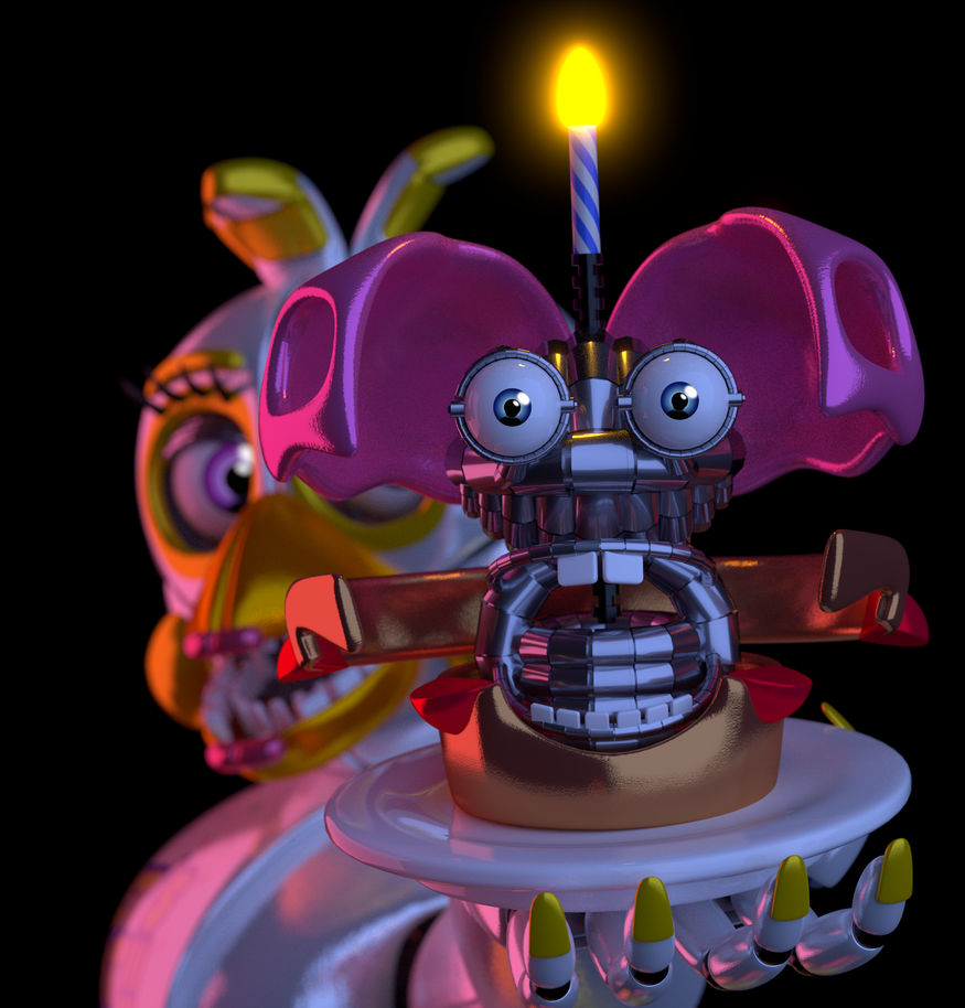 Oh come now sweeties he 39 s not scary by zylae on deviantart - Fnaf 3 not scary ...