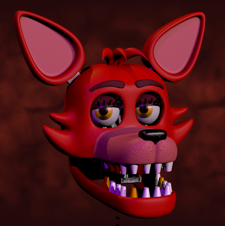 Thicc Foxy Head (Filler) By Zylae On DeviantArt