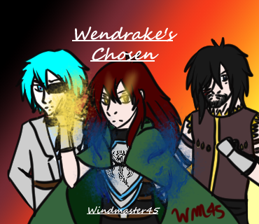 Wendrake's Chosen Comic Cover remaster