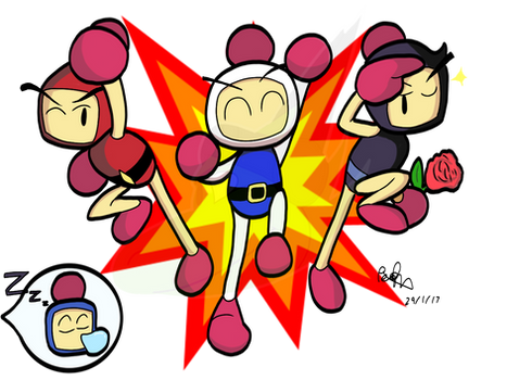 Super Bomberman R!