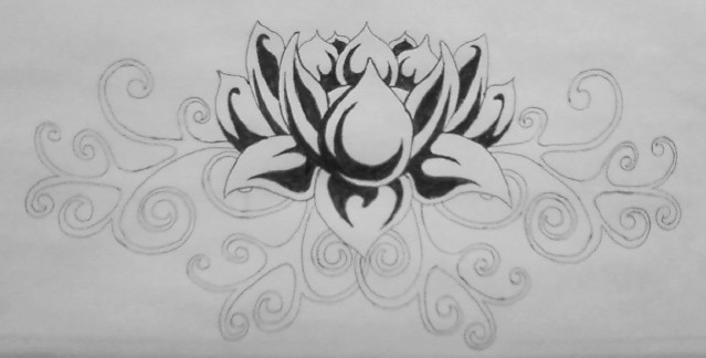 A Lotus Design by TheMajesticCarnival