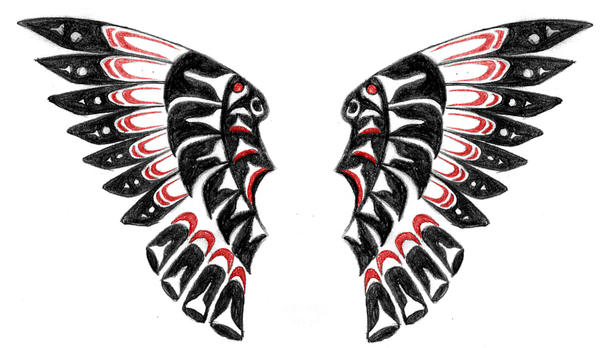 Native American Wings by TheMajesticCarnival