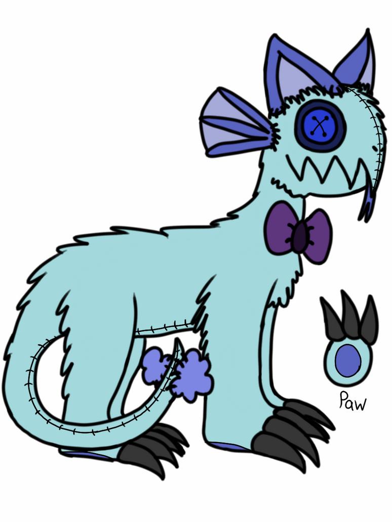 Plush Ridgejaw by Lunasia-the-Dragon