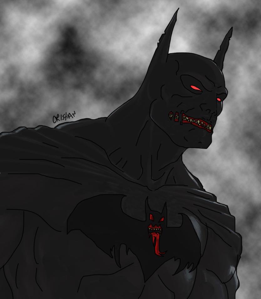 Evil Batman by Crishark on DeviantArt