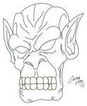Orc Lineart