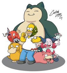 Homer Pokemon Team by Crishark