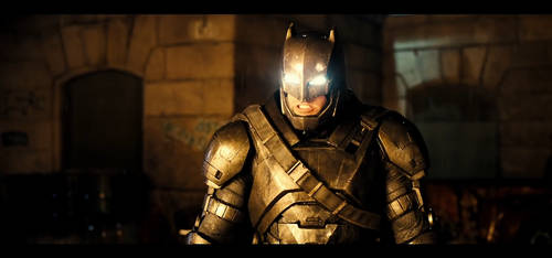 Batman v Superman - Batman Armor by Crishark