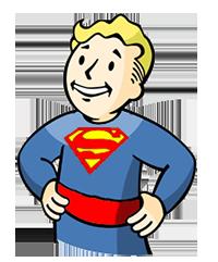 Super Vault Boy by Crishark