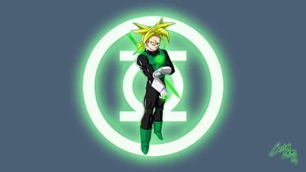 Trunks - Green Lantern Wallpaper by Crishark